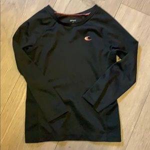 Carters black 5 wicking athletic shirt